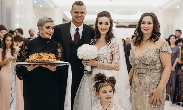 фото свадьбы тарасова и костенко