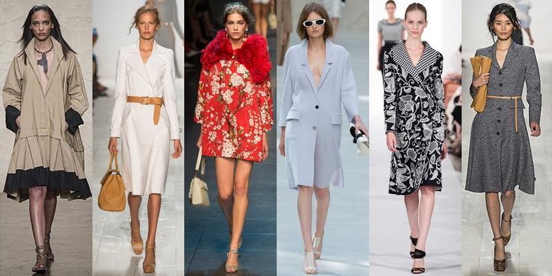 Модные пальто и плащи сезона весна-лето 2014 - фото №7