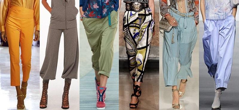 Модные брюки сезона весна-лето 2013-2014 - фото №3