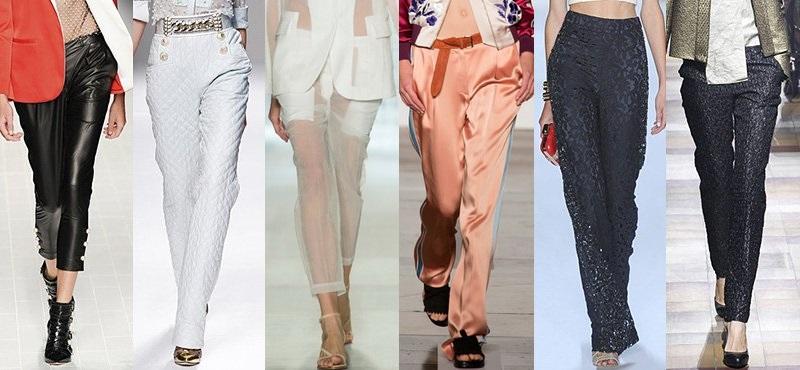 Модные брюки сезона весна-лето 2013-2014 - фото №5