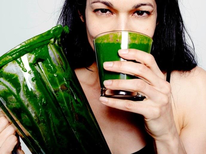 Зеленые смузи для очищения организма - фото №1