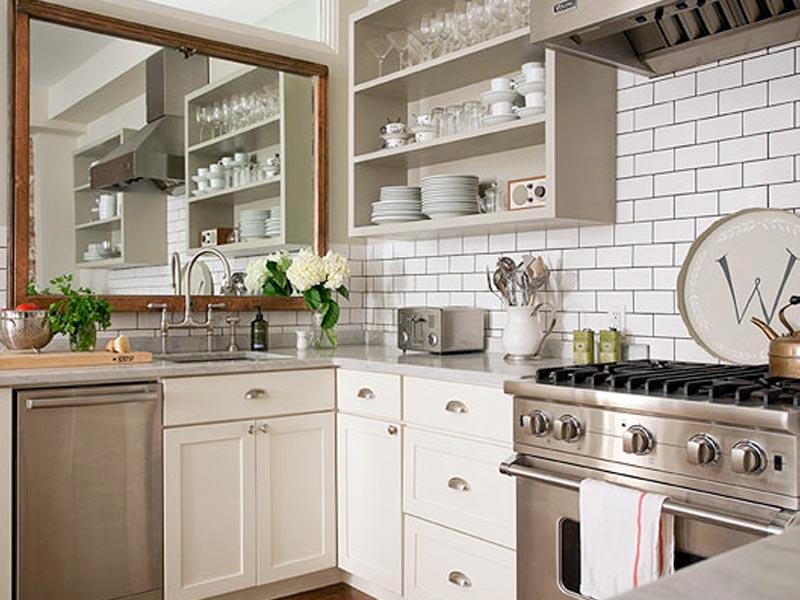 Маленькая кухня: как визуально увеличить пространство - фото №6