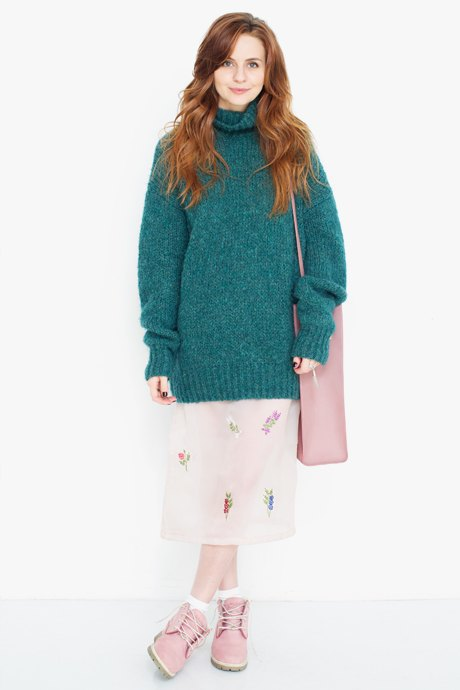 Fashion-гид: как носить шифоновую юбку зимой