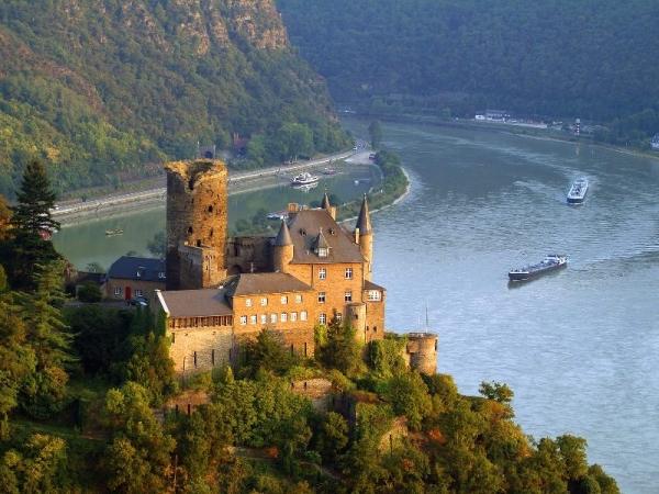германия, долина Рейна