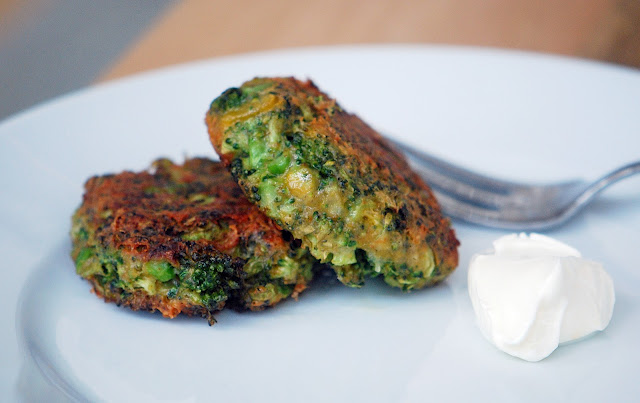 оладьи из брокколи рецепт