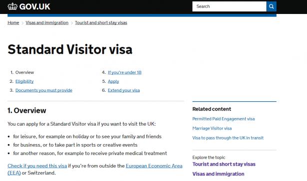 Как получить британскую визу