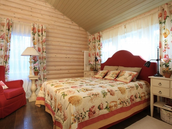 шторы в интерьере спальни фото 2016