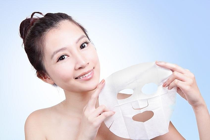 тканевые корейские маски