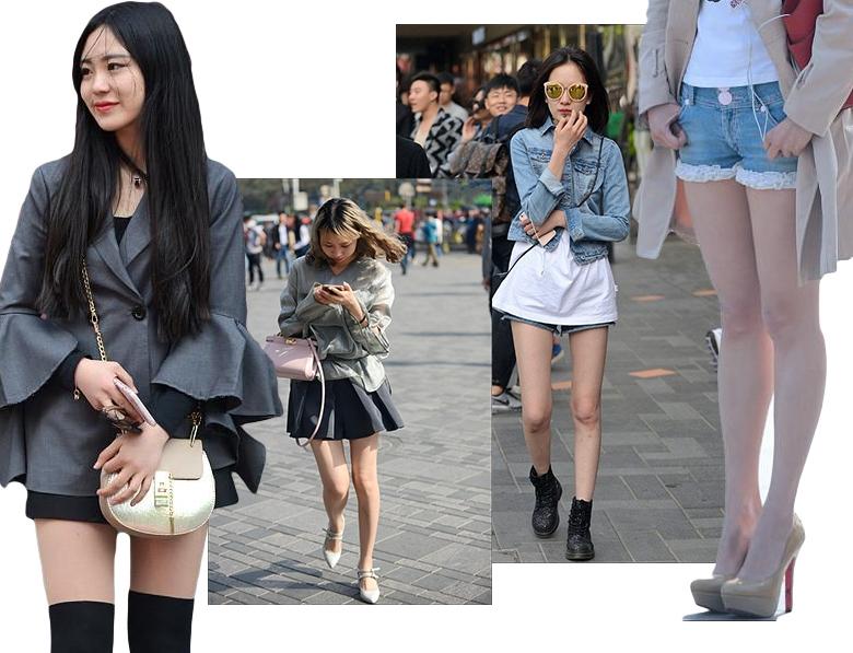 мини и декольте  в Китае фото
