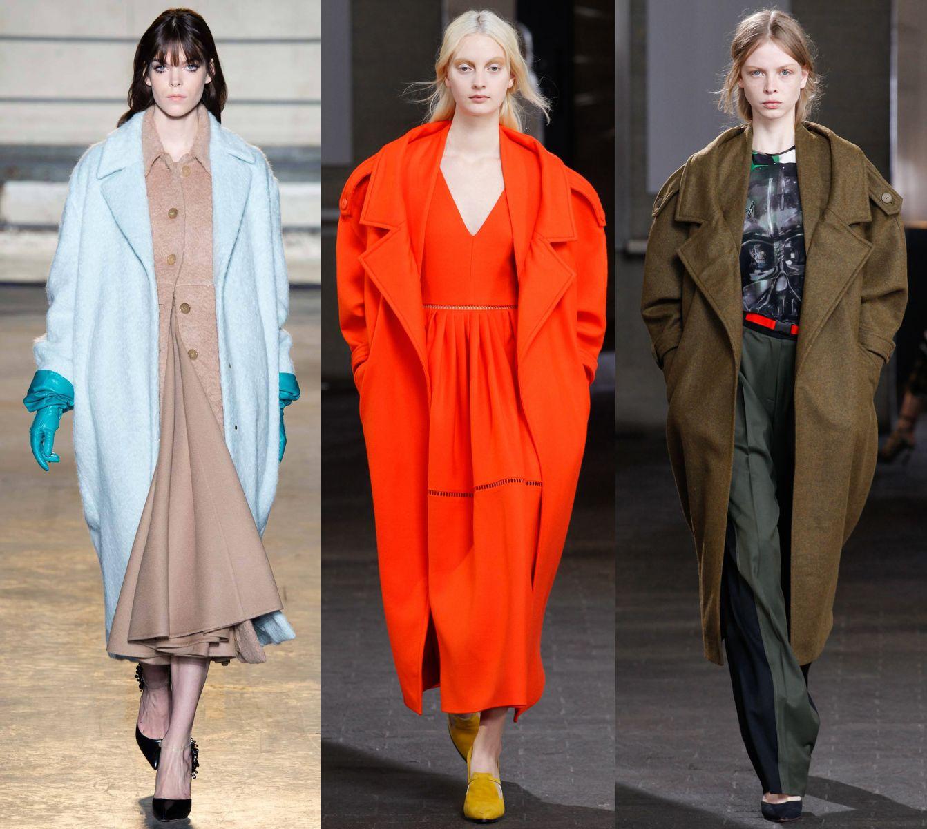 Как носить пальто длиной макси - фото №1