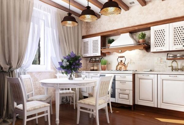 стиль прованс в кухне
