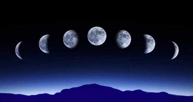 Растущая Луна в октябре 2016