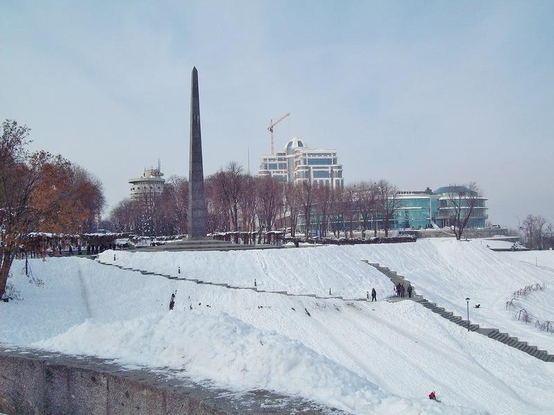 Где в Киеве покататься на санках - фото №2