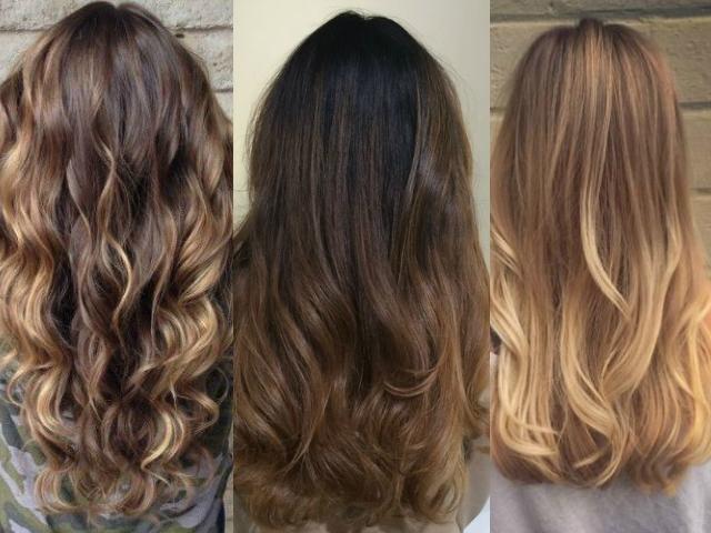 Фламбояж: модная техника окрашивания волос 2016