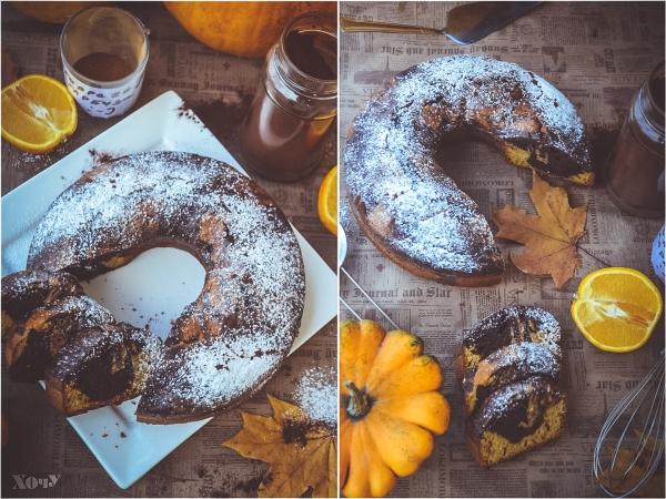 как готовить шоколадно-тыквенный кекс