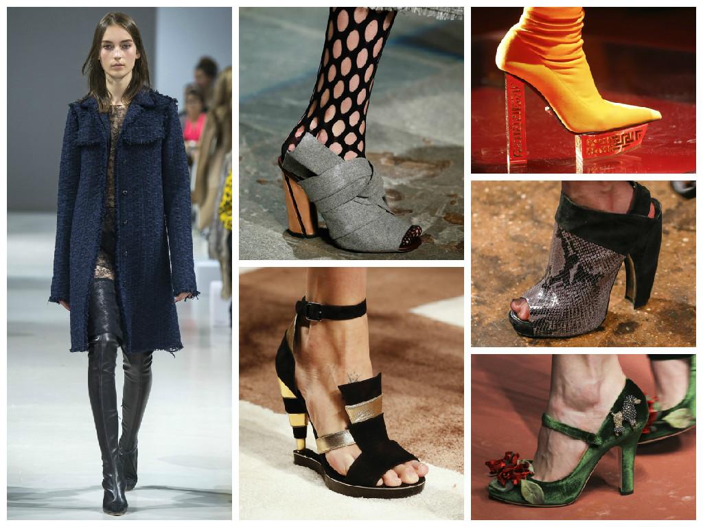 Модная обувь осени 2015