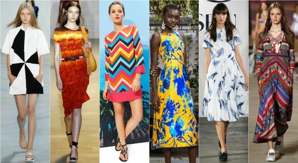 модные модели летних платьев 2016