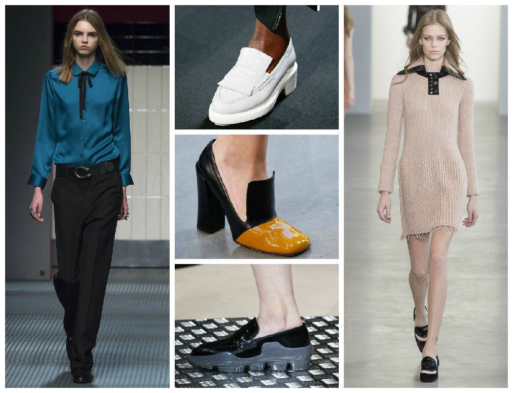 Модные осенние лоферы 2015