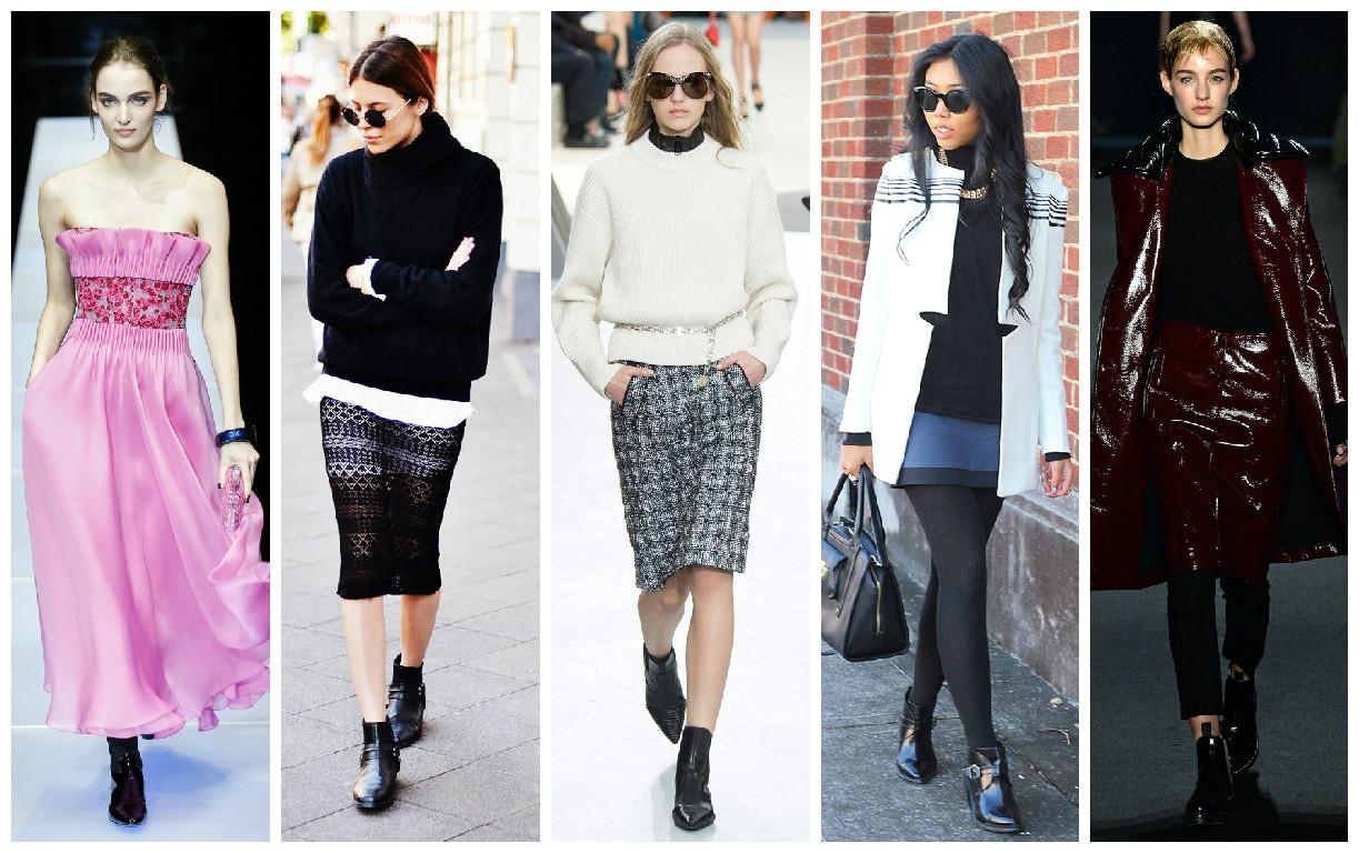 Что обувать осенью 2015 - ботинки