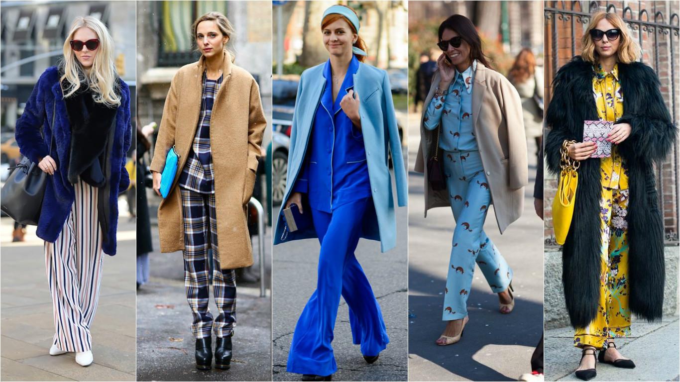 fa4a6f6c5410 Как носить пижаму вне дома: пижамная мода 2016