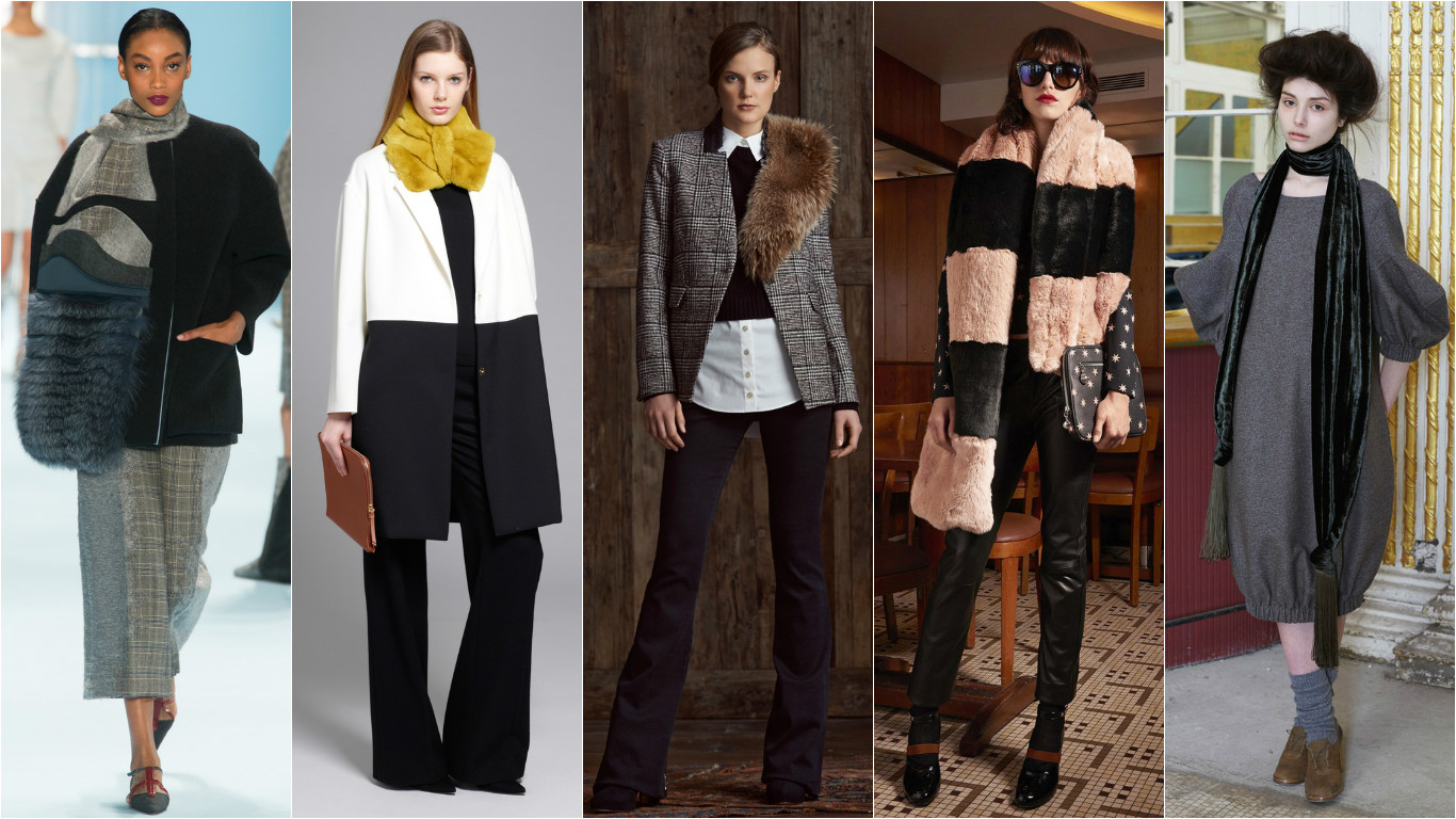 Модные тренды осень 2015. Как носить шарф