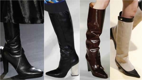 стильная зимняя обувь фото