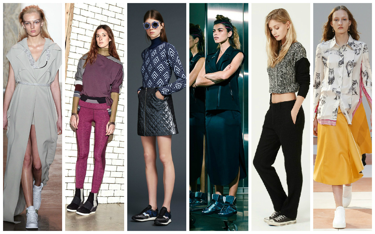 Модные тенденции 2015 на обувь- спортивная обувь