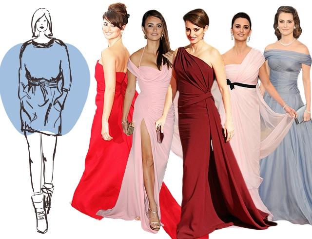 3f787b22222 Как выбрать платье по типу фигуры  платья для фигуры груша