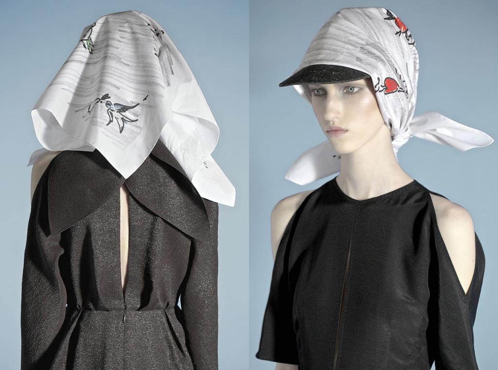 Шелковые платки – как носить? - фото №7