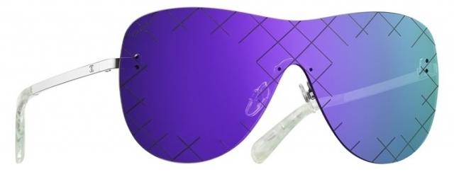 Модные солнцезащитные очки лета 2016 очки-маска