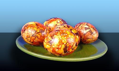 Как покрасить яйца луковой шелухой: топ 5 вариантов - фото №3