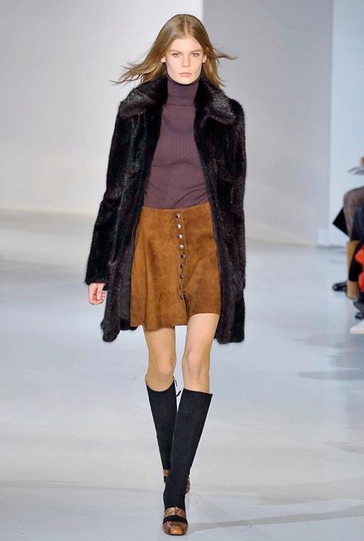 Начало Недели моды в Нью-Йорке Джилл Стюарт