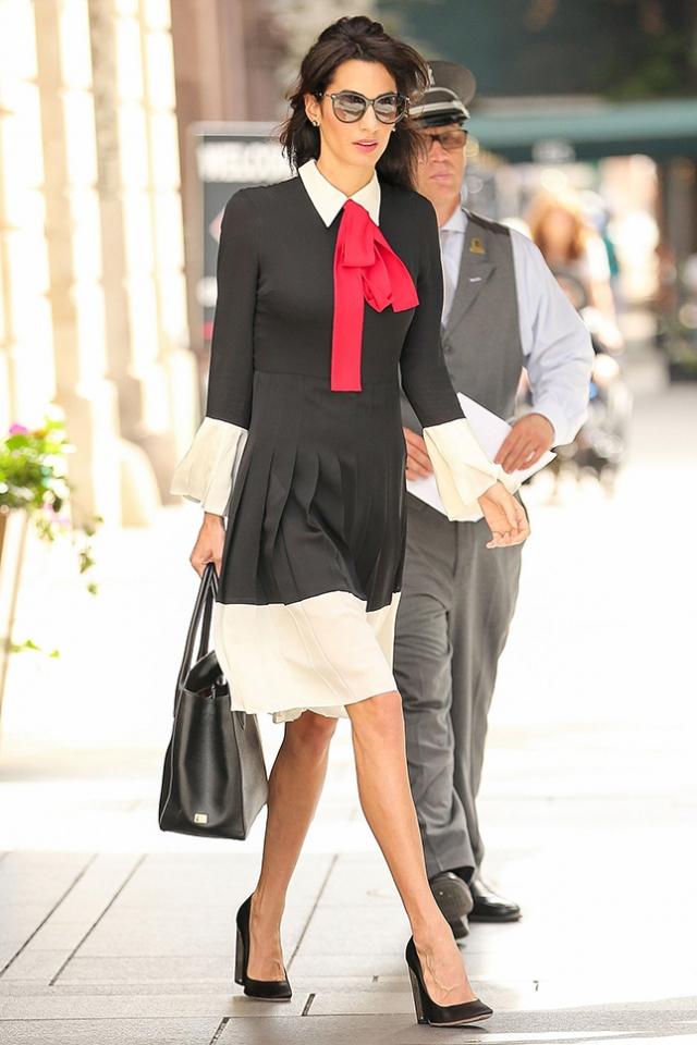 Одеться как звезда: lady like стиль Амаль Клуни