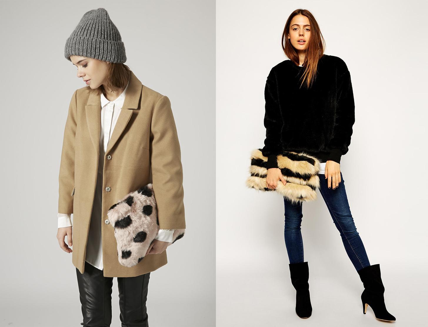 Что купить: 20 пушистых сумок на зиму - фото №1