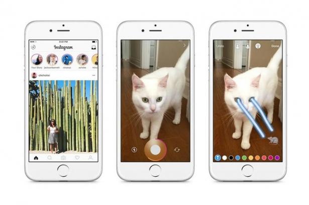"""""""Instagram Stories"""" в последнем обновлении Инстаграма: теперь можно создавать рассказы по аналогии Snapchat, которые исчезают через сутки - фото №1"""