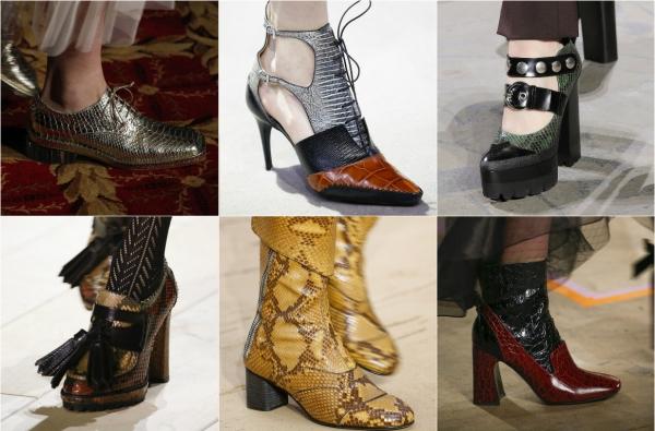 модная обувь на осень 2016