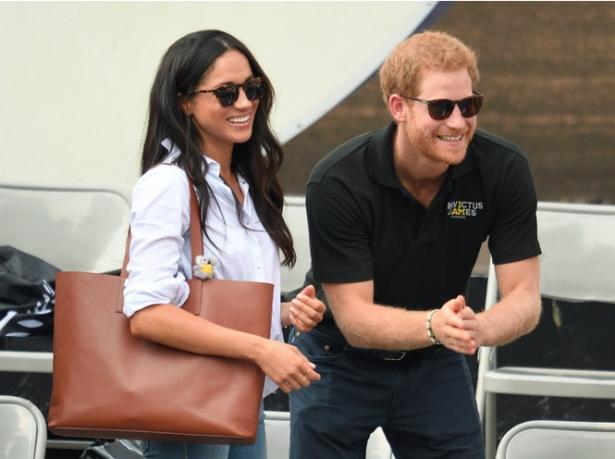 Принц Гарри и его девушка