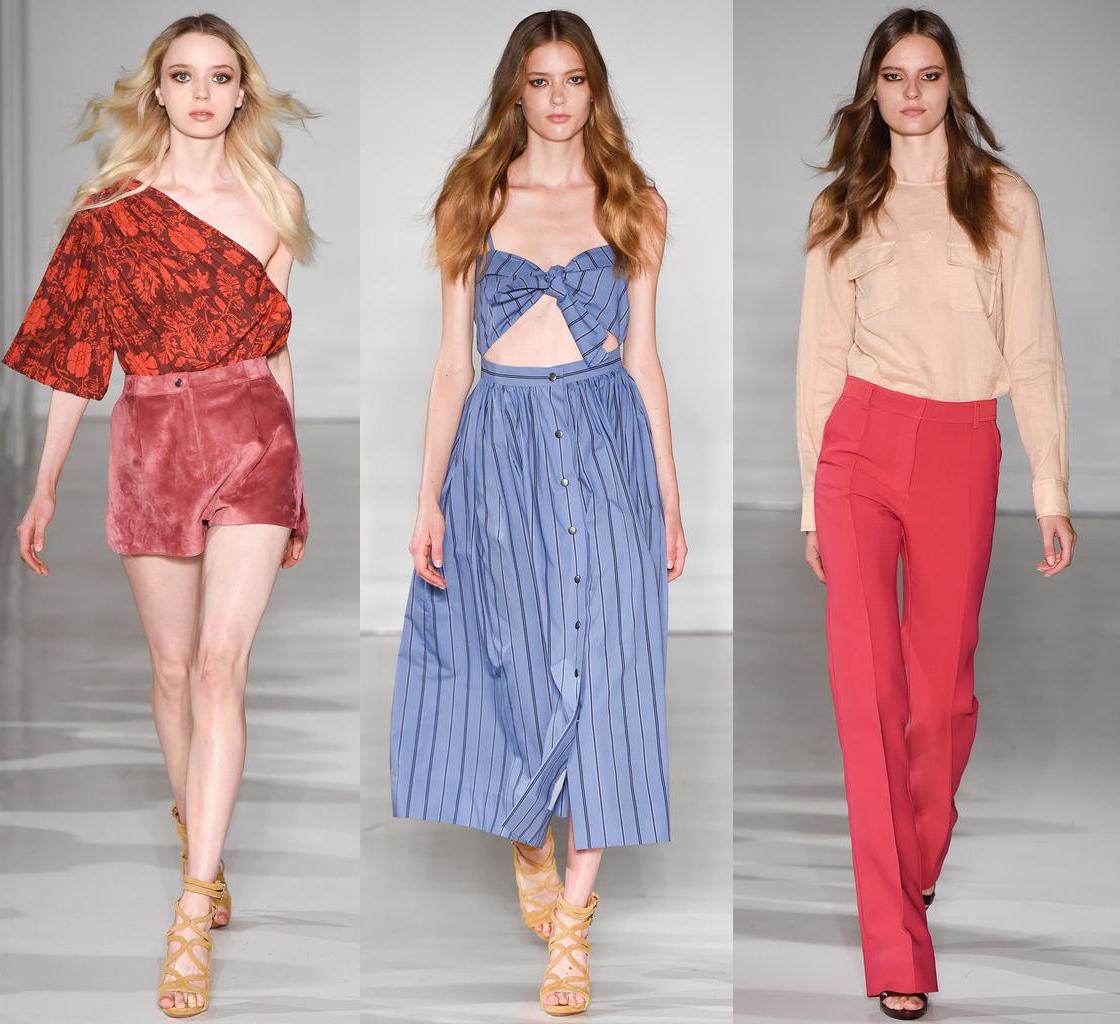 Неделя моды в Нью-Йорке: Jill Stuart, весна-лето 2015 - фото №1