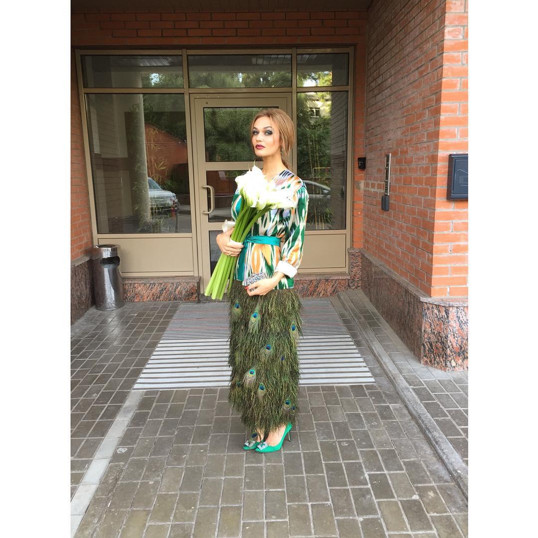 Ксения Бородина вышла замуж: зимняя сказка летом - фото №3