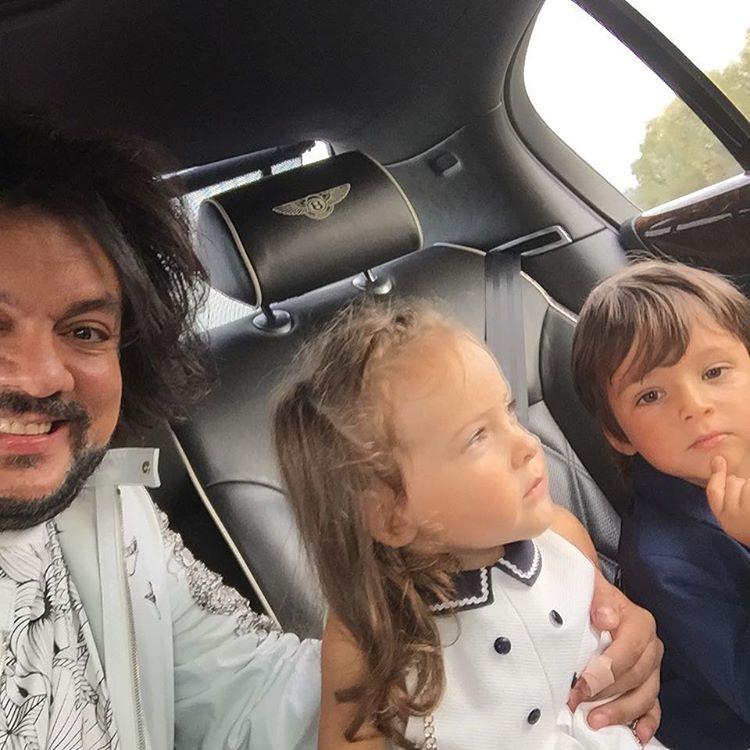 Киркоров с подросшими детьми