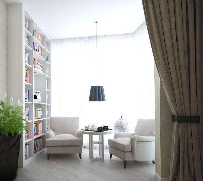Как стильно оформить рабочее место дома - фото №3