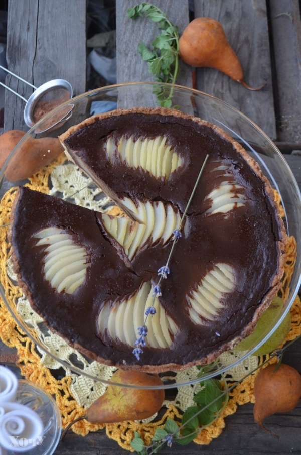 пирог из груши рецепт с фото