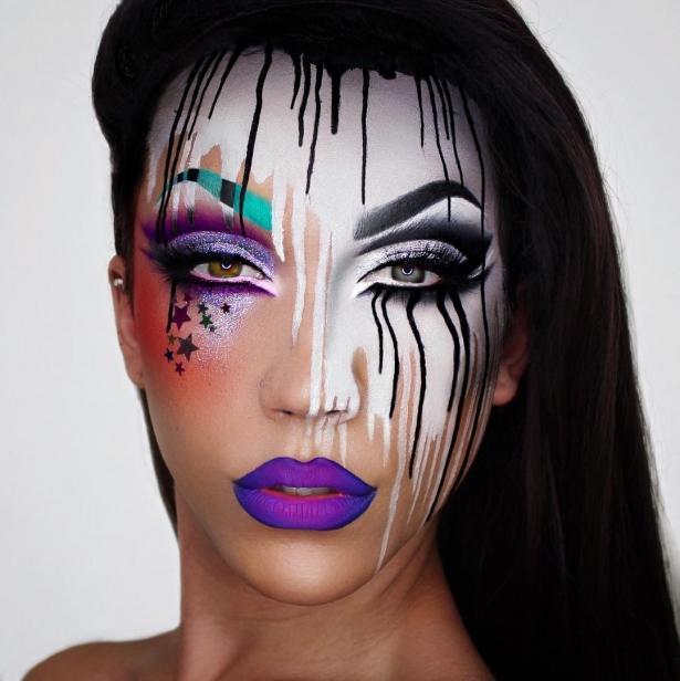 соцсети макияж