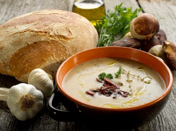 варка грибной суп