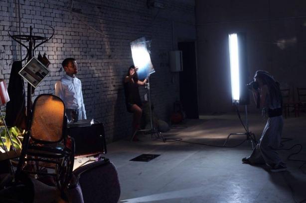Новое арт-пространство на территории киностудии им. Довженко: кинообразы знаменитостей и поиск творческого начала посетителей - фото №6