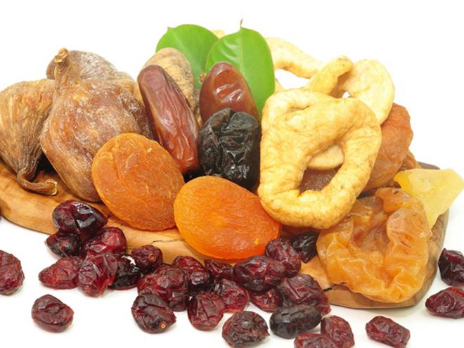сухофрукты полезные сладости