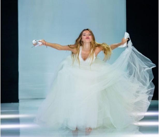 тодоренко в свадебном платье