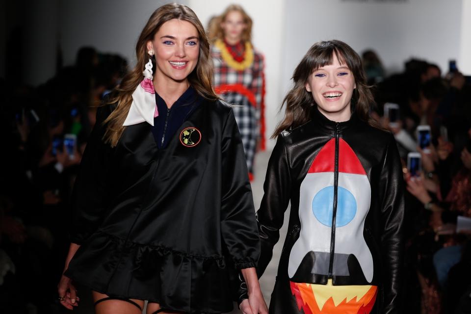 Американская мечта: Anna K показала коллекцию на Неделе моды в Нью-Йорке