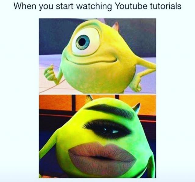 бьюти мемы