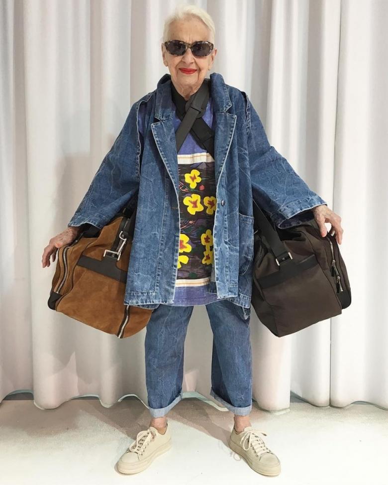 95-летняя австрийка стала иконой стиля